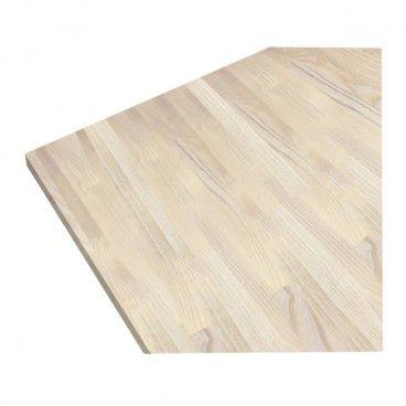 Blat drewniany 60 x 27 x 300 cm jesion bielony