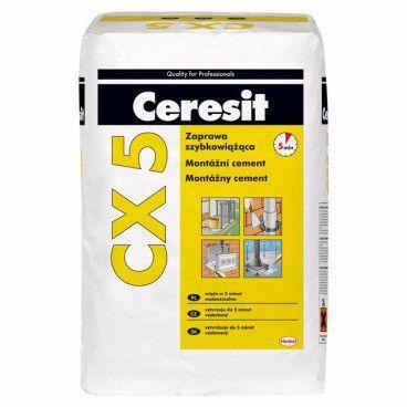 Cement montażowy Ceresit CX - 5 20 kg
