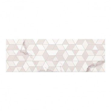 Dekor Calacatta Geo 25 x 75 cm