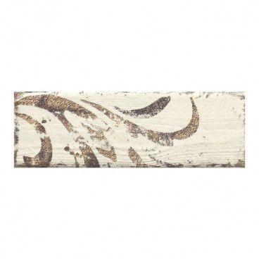 Dekor Rondoni Paradyż 9,8 x 29,8 cm bianco B