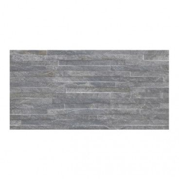 Dekor Shaded slate Cersanit 59,8 x 29,8 cm anthracite 1,25 m2