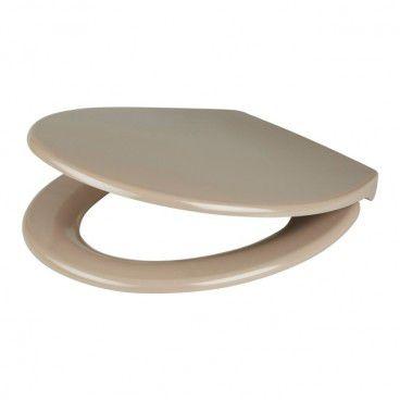 Deska WC Diani z duroplastu wolnoopadająca taupe