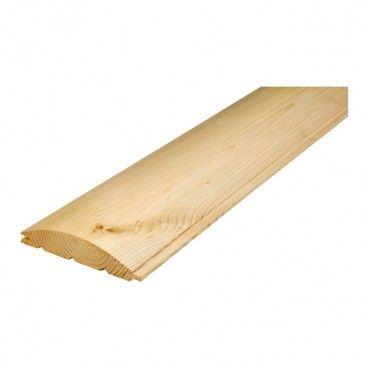 Deska elewacyjna Floorpol Otoczak 28 x 137 x 3000 mm 1,64 m2