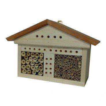 Domek dla pszczół i owadów 32 x 13 x 21 cm