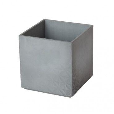 Doniczka GoodHome 10,5 cm efekt betonu