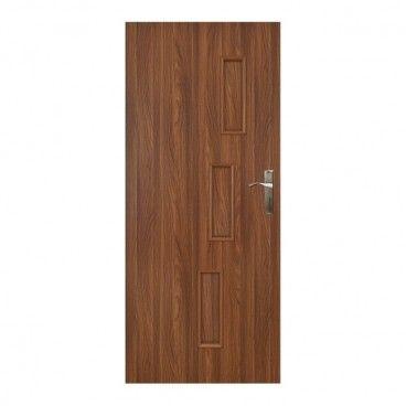 Drzwi pełne Everhouse Roma 60 lewe akacja