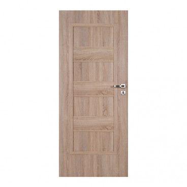 Drzwi pełne Kastel 90 lewe dąb sonoma