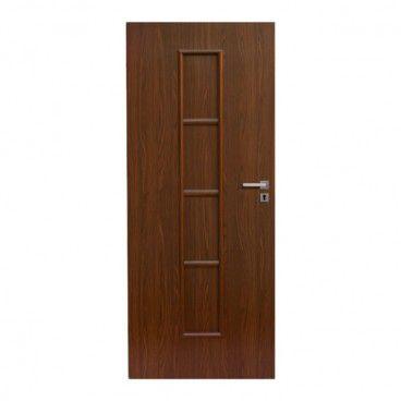 Drzwi pełne Olga 80 lewe orzech