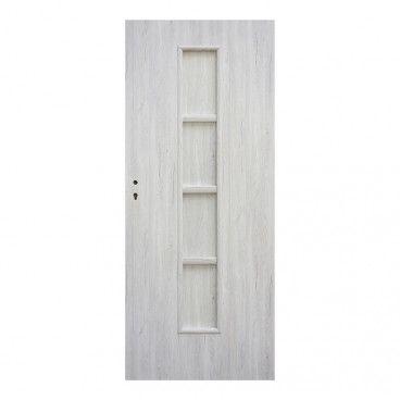 Drzwi pełne Olga 90 prawe dąb silver