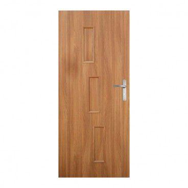 Drzwi pełne Roma 90 lewe akacja