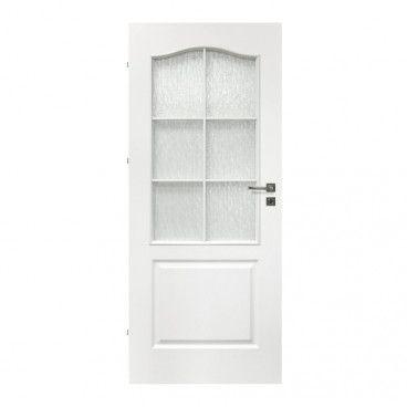 Drzwi pokojowe Archi 80 lewe białe lakierowane