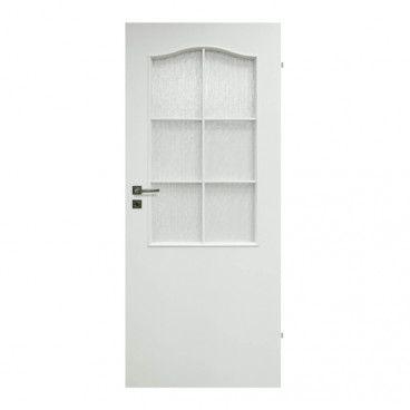 Drzwi pokojowe Klasyk 80 prawe białe