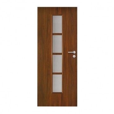 Drzwi pokojowe Olga 90 lewe orzech