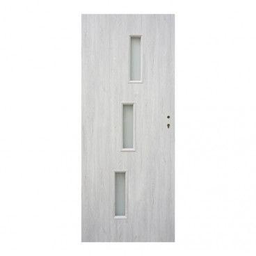 Drzwi pokojowe Roma 70 lewe dąb silver