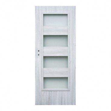 Drzwi pokojowe Winfloor Kastel 80 prawe silver