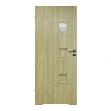 Drzwi z podcięciem Lugano 60 lewe dąb sonoma