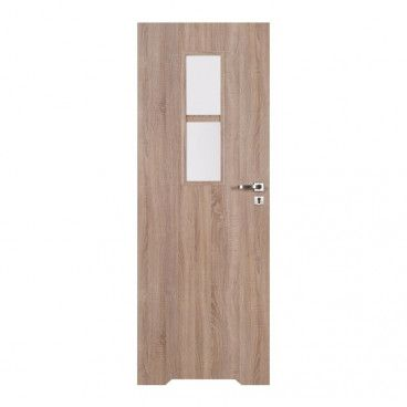Drzwi z podcięciem Olga 60 lewe dąb sonoma