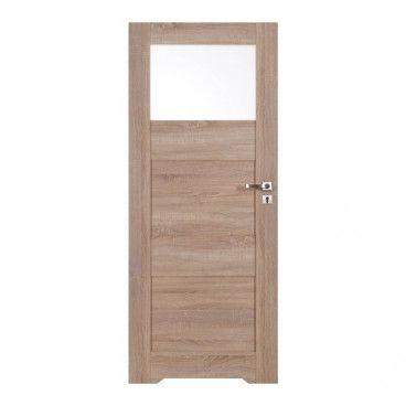 Drzwi z podcięciem Tre 80 lewe dąb elegancja