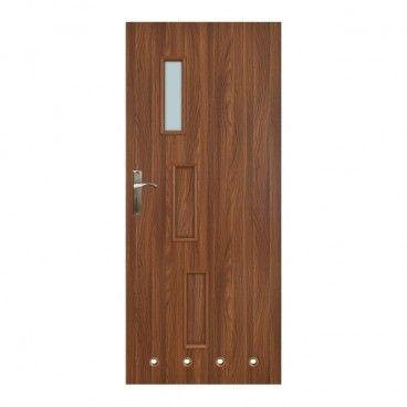 Drzwi z tulejami Everhouse Roma 60 prawe akacja