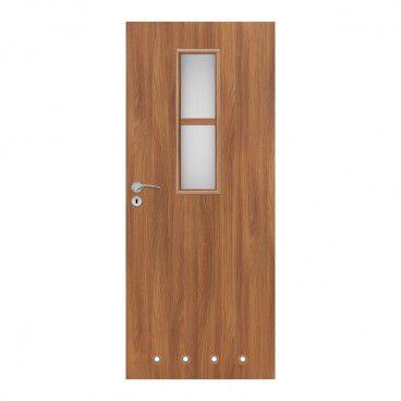 Drzwi z tulejami Olga 60 prawe akacja