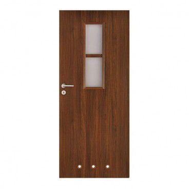 Drzwi z tulejami Olga 70 prawe orzech