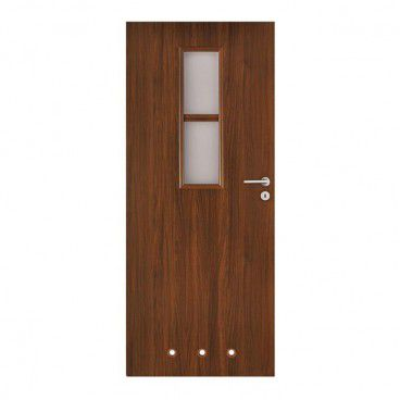 Drzwi z tulejami Olga 80 lewe orzech
