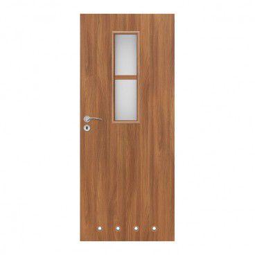 Drzwi z tulejami Olga 80 prawe akacja