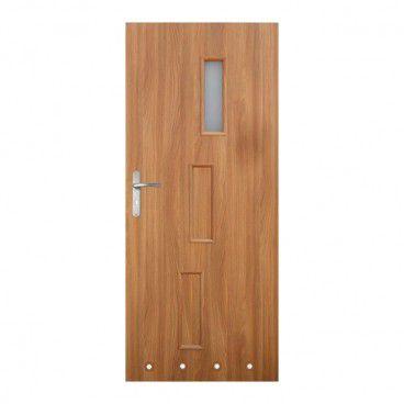 Drzwi z tulejami Roma 80 prawe akacja