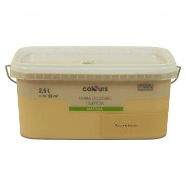 Farba Colours Ściana i Sufit poranne kakao 2,5 l