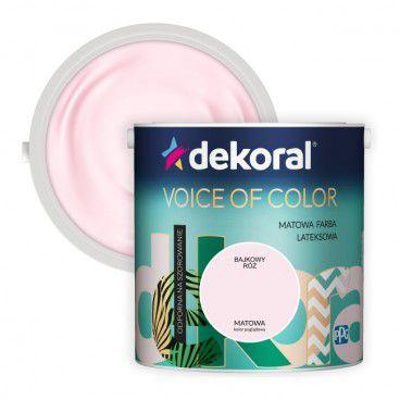 Farba Dekoral Voice of Color bajkowy róż 2,5 l