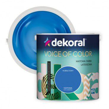Farba Dekoral Voice of Color kobaltowy 2,5 l