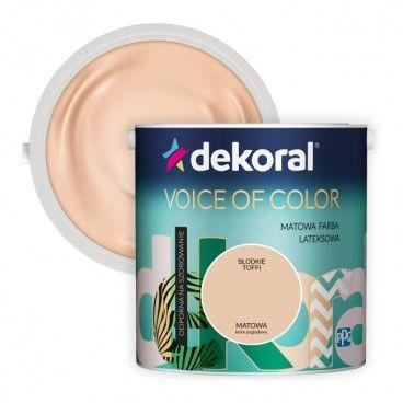 Farba Dekoral Voice of Color słodkie toffi 2,5 l
