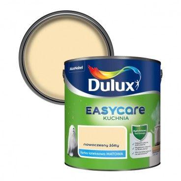 Farba Dulux EasyCare Kuchnia nowoczesny żółty 2,5 l