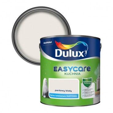 Farba Dulux EasyCare Kuchnia perłowy biały 2,5 l