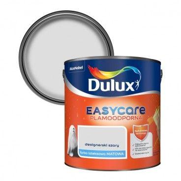 Farba Dulux EasyCare designerski szary 2,5 l