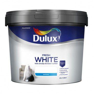 Farba Dulux Fresh White 10 l