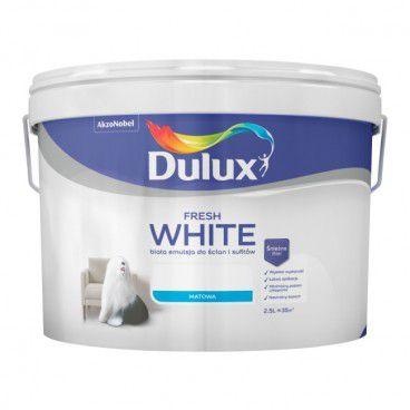 Farba Dulux Fresh White 2,5 l
