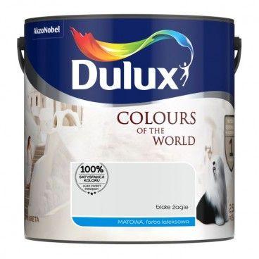 Farba Dulux Kolory Świata białe żagle 2,5 l