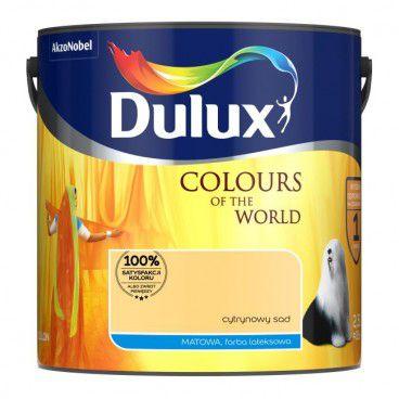 Farba Dulux Kolory Świata cytrynowy sad 2,5 l