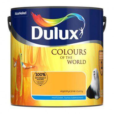 Farba Dulux Kolory Świata egzotyczne curry 2,5 l
