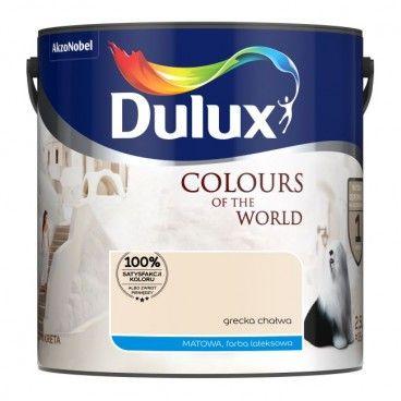 Farba Dulux Kolory Świata grecka chałwa 2,5 l