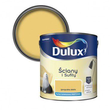 Farba Dulux Ściany i Sufity gorączka złota 2,5 l