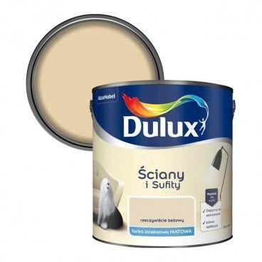 Farba Dulux Ściany i Sufity rzeczywiście beżowy 2,5 l