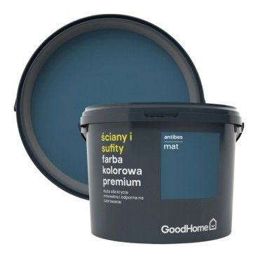 Farba GoodHome Premium Ściany i Sufity antibes 2,5 l