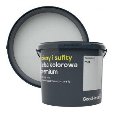 Farba GoodHome Premium Ściany i Sufity hempstead 5 l
