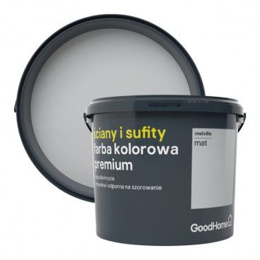 Farba GoodHome Premium Ściany i Sufity melville 5 l