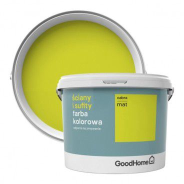 Farba GoodHome Ściany i Sufity cabra 2,5 l