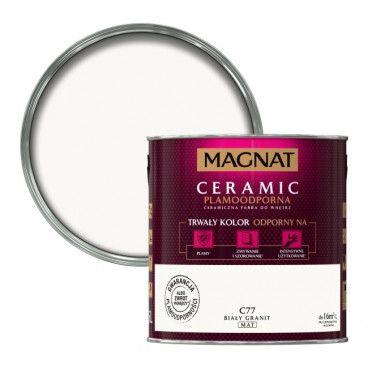 Farba Magnat Ceramic biały granit 2,5 l