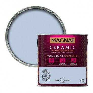 Farba Magnat Ceramic błękitny topaz 2,5 l