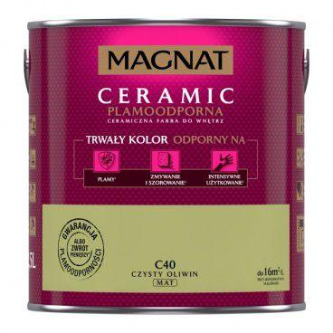 Farba Magnat Ceramic czysty oliwin 2,5 l